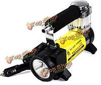 12v yd3036 портативный автоматический электрический насос компрессора воздуха автомобиля шины надувной светом