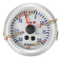 52мм autometer Phantom указатель наддува вакуумметр манометр белый