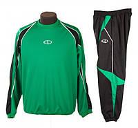 Костюм тренировочный Europaw зелено-черный