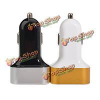 Универсальный 3 порта USB Автомобильное зарядное устройство прикуривателя 5.2 a выход