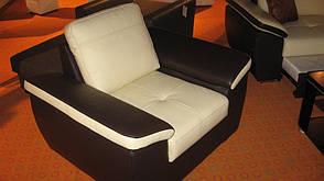 Стильне крісло в шкірі FX 10 (98 см), фото 3