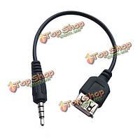 3.5мм автомобилей AUX USB аудио кабель trainborn MP3 адаптер кабель адаптера