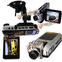 FullHD 1080p 12MP 2.5-дюймов LCD  автомобиля DVR камера видео-рекордер 360° поворачивается