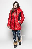 Практичная   женская удлиненная куртка  Letta