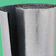 Алюфом RС 6 мм, синтетический каучук ламинированный алюминиевой фольгой с защитным покрытием самоклейка
