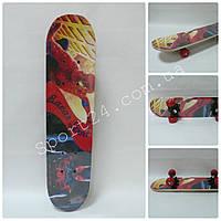 Скейтборд для детей Spider Man (Спайдер мен) до 30 кг
