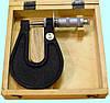 Микрометр листовой МЛ-25 (0-25мм) Красный Инструментальщик, Россия