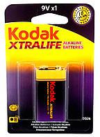 Батарейка Kodak XTRALIFE 6LR61 9V (Крона)