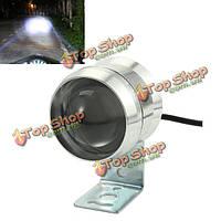12-80В 10Вт LED мотоцикл фары белый вспомогательный фонарь алюминиевый водонепроницаемый