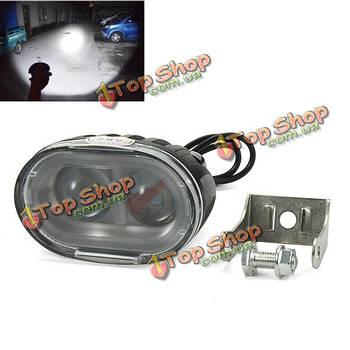 U3 12-80В 30Вт LED привет/ближнего света Двухламповая бусинки фар мотоцикл электрический автомобиль