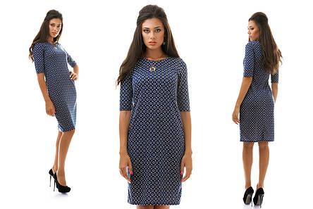 Платье ромбики квадратики, фото 2