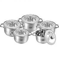 Набор посуды strich 10 предметов Krauff 26-242-006