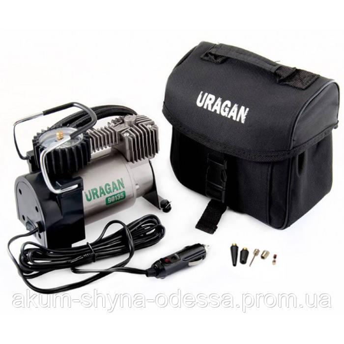 Автомобильный компрессор URAGAN с автостопом