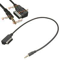 Ами MMI с 3.5 мужской аудио AUX mp3 адаптер кабель для Audi A3 / A4 / A5 / A6 / Q5 VW MK5