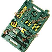12шт ремонт автомобилей аварийный комплект комбинированный инструмент автомобильных запасных инструмент, фото 1
