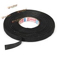 Автомобиль жгут жгут клея ткань ткани ленты кабель ткацкий станок 9мм х 25м черный