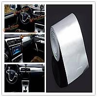 5смx300см наклейки салонов автомобилей фольги вспышки зеркало серебро изменить цвет