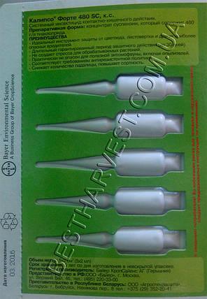 Инсектицид Калипсо Форте 5 ампул по 2 мл, пипетка, фото 2