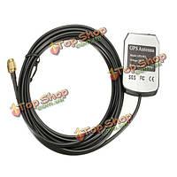 Активная выносная антенна антенна разъем разъем адаптера 1575.42MHz сма GPS 3 метра автомобиль авто