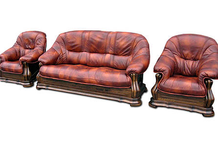 Кресло в коже MIAMI (105 см), фото 2