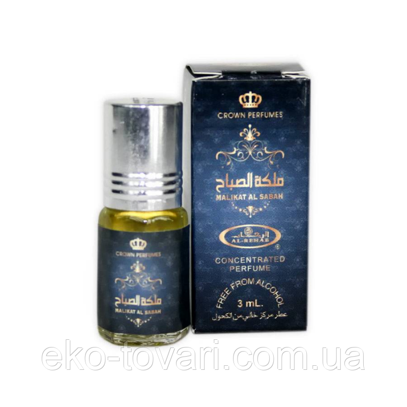 Масляные духи Malikat al Sabah Al-Rehab 3 мл