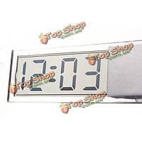 Присоска приборной панели автомобиля ветровое стекло цифровой Дисплей LCD мини часы