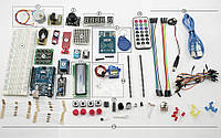 Обучающий набор для сборки на базе Arduino Uno R3 в пластикой коробке