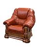 Классическое кожаное кресло Grizzly HUP (110 см), фото 4