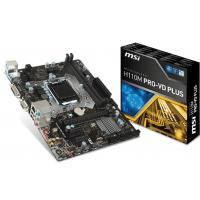 MSI материнська плата s1151 H110 2 DDR4 DVI/VGA mATX H110M PRO-VD PLUS (911-7A15-001)