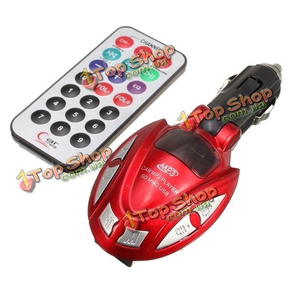 Автомобильный MP3 плеер FM модулятор передатчика беспроводной ЖК-автомобильный комплект USB TF SD дистанционного управления - ➊TopShop ➠ Товары из Китая с бесплатной доставкой в Украину! в Киеве