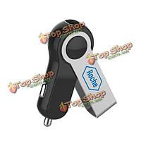 Микро авто Mini USB автомобильное зарядное устройство с возможностью поворота U диск форма для iPhone IPad Самсунга