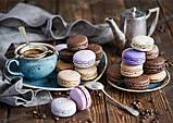 """Суміш для печива """"Макаронів"""" - БЕЗ ГЛЮТЕНУ, 300 г, яскраво-рожева, фото 3"""