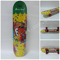 Скейтборд для детей (Cars) Тачки до 30 кг