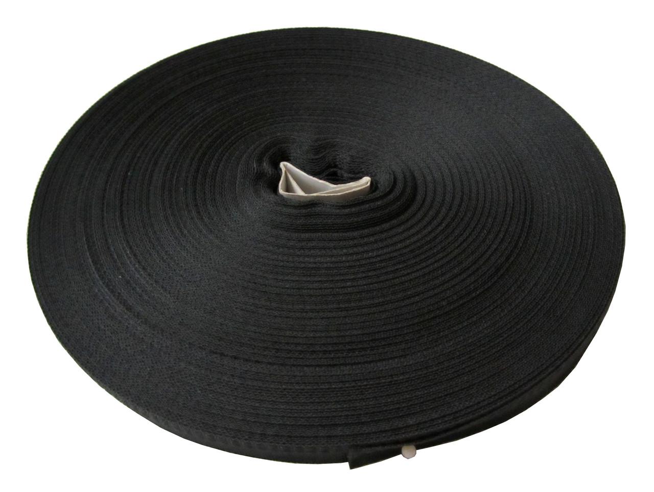 Тесьма (15мм/50м) черная