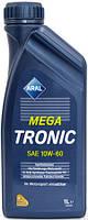 Моторное масло Aral MegaTronic sae 10w60 1л