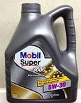 Моторное масло Mobil Super 3000 FE 5W-30, фото 1