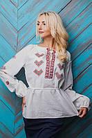 Женская блузка-вышиванка с длинными рукавами