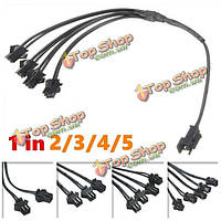 5/4/3/2в1 кабель сплиттера для эш провода неонового света прокладки с инвертором проведён