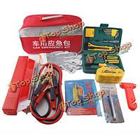 Автомобиль аварийный комплект кабелей аварийно-спасательный инструмент пакет комплект для ремонта батареи буксировочный трос шин Маноме