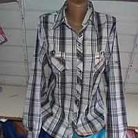 Рубашка женская Батальная оптом длинный рукав нарядная в школу офис купить не дорого оптом в Одессе