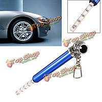 Авто автомобиль автомобиль двигатель шин шины тест манометр манометр ручка 10-50 фунтов на квадратный дюйм
