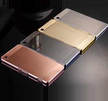 "SONY Z3 D6633 D6603 металлический зеркальный чехол бампер корпус анти отпечаток ""INFINITY PLATINUM"""