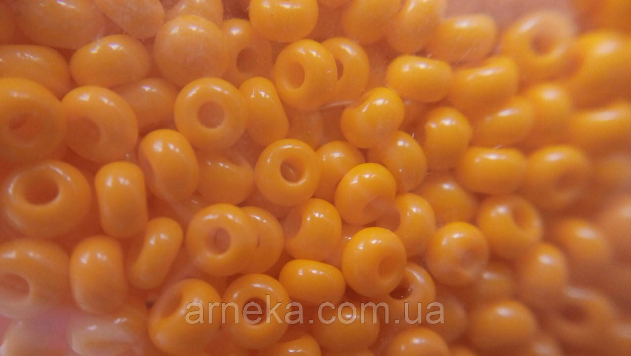 Бисер PRECIOSA CZECH 10/0 первый сорт 208/93110 натуральный 10 гр/ 50 гр