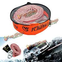 3.5M 3tons буксировочный кабель ремень буксировочный канат с крючками для тяжелых автомобилей двигателя чрезвычайной ситуации