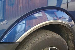 Хром-накладки на арки Volkswagen Crafter (4 шт.)