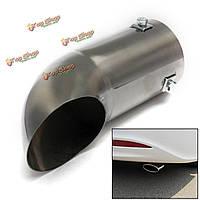 Выхлопные газы автомобилей выхлопная труба из полированной нержавеющей стали отделка хром наконечник продувки бампер