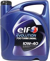 Моторное масло Elf EVOLUTION  700 TURBO DIESEL 10W40 5л