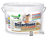 "TM Green Line Decor Stone типа «короед»-декоративная акриловая штукатурка (Декор Стоун типа ""короед"") 25 кг."