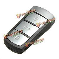 Дистанционный ключ автомобиль кнопки крышка FOB случай 3 переключатель нажмите флип оболочка для VW Passat B6 3C TDI TFSI