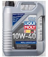 LIQUI MOLY SAE 10W-40 MoS2 LEICHTLAUF 5л масляный фильтр в подарок